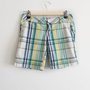 Other - ▪︎Arizona▪︎ Girl's/Junior's Plaid Bermuda Shorts